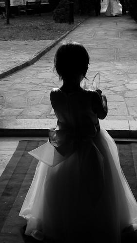 Esperando o noivo