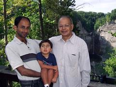 Shami, Dadu, and Oliver