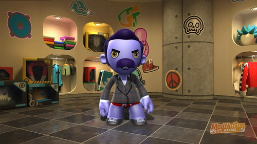 ModNation Racers for PS3: Biff Tradwell