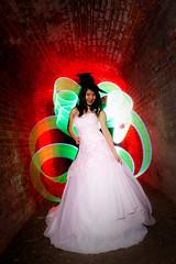 Stephanie at Dark (emaniebo) Tags: light painting photography nikon nocturnal stephanie portsmouth elmer d700 maniebo gudelos