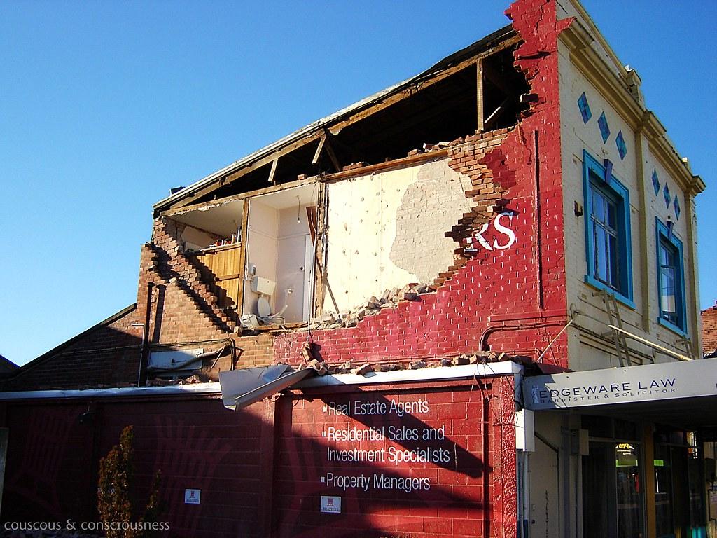 Christchurch Earthquake 1, edited
