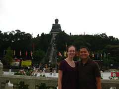 Beneath Tian Tan Buddha