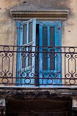 (ion-bogdan dumitrescu) Tags: door blue lebanon doors balcony shades beirut frenchdoors bitzi mg5723 ibdp gettyvacation2010 ibdpro wwwibdpro ionbogdandumitrescuphotography