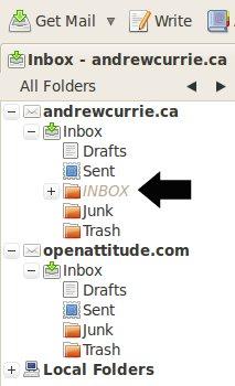 Thunderbird Inbox Inbox