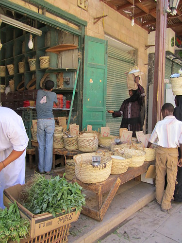 A Local Store in Aswan