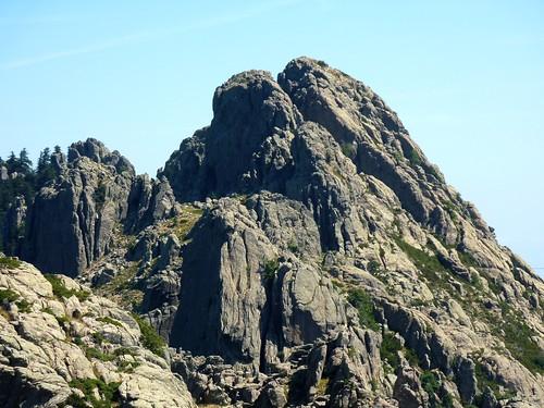 Punta di Quercitella depuis le sommet de Punta Furcata