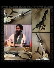 Rob Fakir and the DOTARA he made (BigMs.Take) Tags: musician equipment portrature baul dotara robfakir lalonsinger