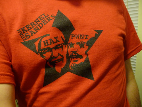 Team Kernel Sanders t-shirts
