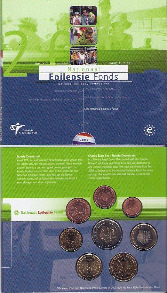 Oficiálna sada 8 Euro mincí Holandsko 2005