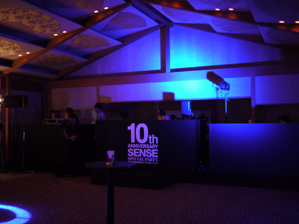 SENSE 10th ANNIVERSARY SPECIAL PARTY