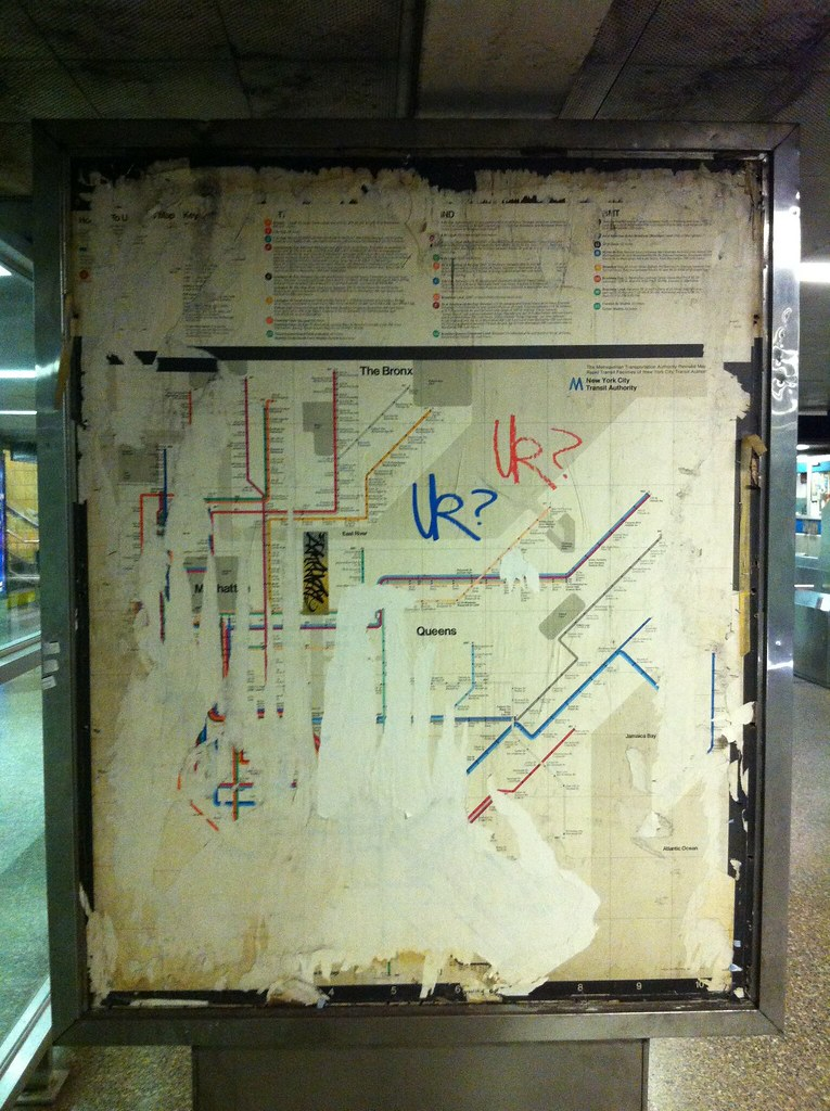Vignelli Map Unearthed
