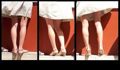 """(hors PPL parce que trop facile) ILLUSTRER UNE PHRASE DE CHANSON. """"Sous les jupes des filles"""" (Souchon) (thetallsam (l quand il peut)) Tags: vent legs jambes jupes souslesjupesdesfilles"""