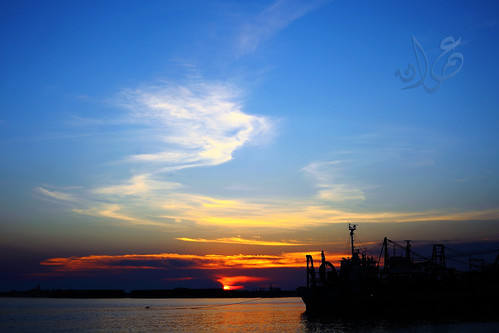 9/11 Sunset @ Malacca Port