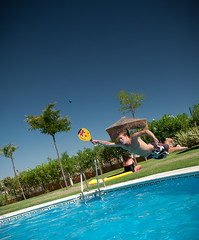 Spain2-095.jpg (DaveyBee) Tags: pool swimming jumping spain action swimmingpool