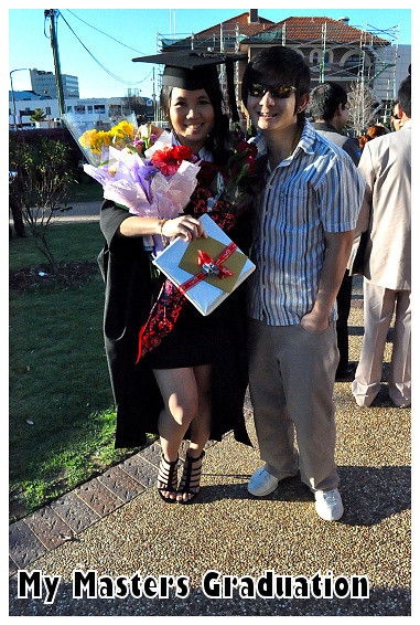 My Masters Graduation 2010: With JH
