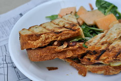 Texas Wild Grilled Cheese (burp_excuzme) Tags: food sandwich vegetarian recipes grilledcheese