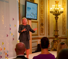IBM's Ginni Rometty spaeking at IBM Start