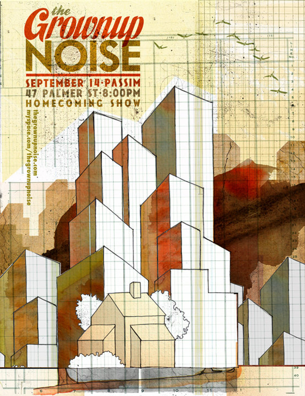The Grownup Noise -- Homecoming Show -- Sept. 14