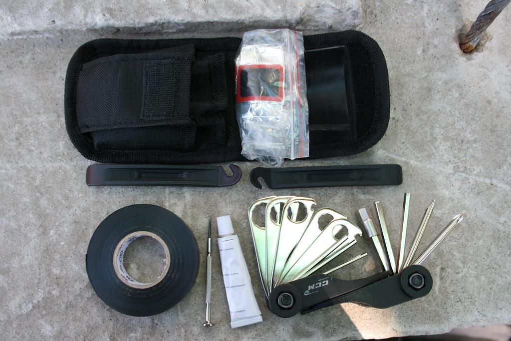 Bike Emergency Repair Kit