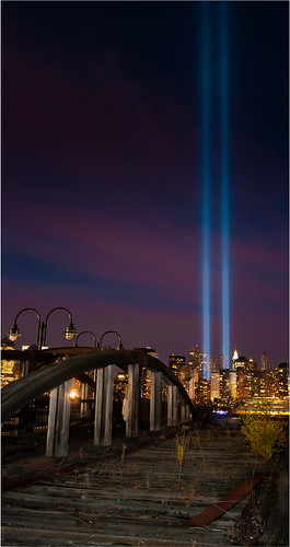Tribute in Light 9-11-10