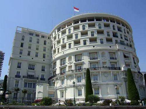 exclusive five stars hotel in Monte-Carlo, Monaco