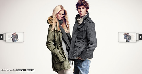 Mathias Lauridsen for HM jacket campaign