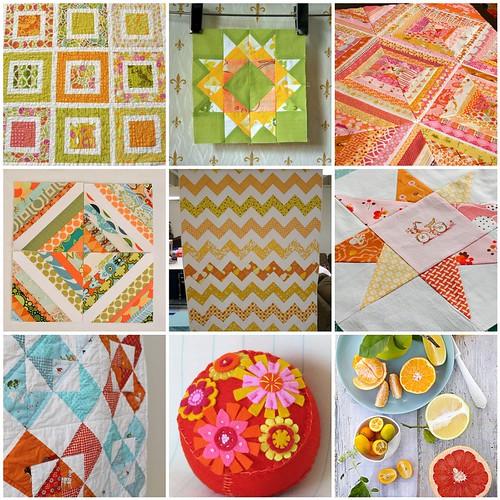 favourites: orange