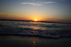Florida Sunrise (thisisbrianfisher) Tags: ocean morning summer sky orange sun beach water sunrise florida brian wave atlantic shore fisher rise outrigger ormond brianfisher thisisbrianfisher kayteeb