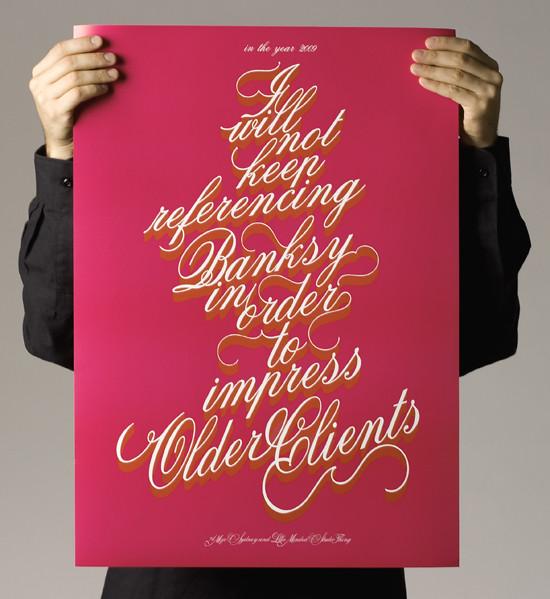 poster print font via creativereview_banksy_font