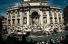 Fontana Trevi (1yen) Tags: travel italy panorama stpeters rome roma travelling photoshop europe panoramic trevifountain fontanaditrevi stpetersbasilica 4exp trevirione