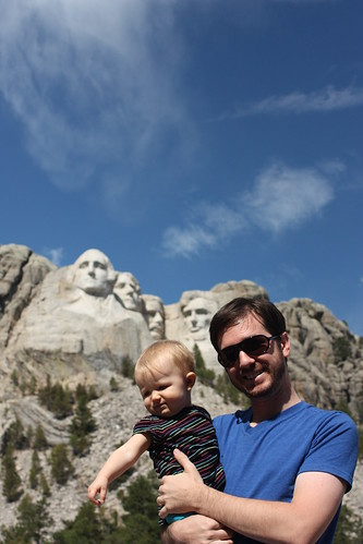 E and C at M. Rushmore