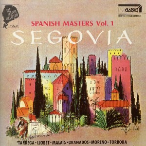 セゴビアコレクション スペイン名曲集(含、アラビア風奇想曲) by Poran111