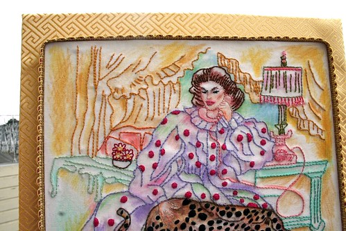 Katherine Hepburn Embroidery