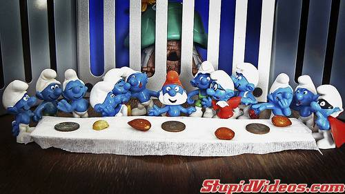 The Smurf Supper (Stupid Videos Logo Drop)