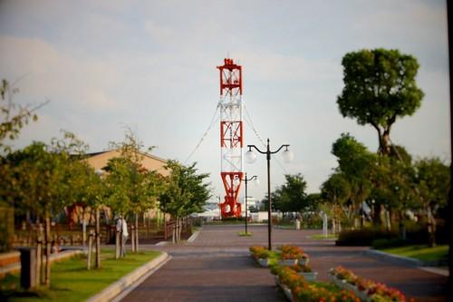 無線の鉄塔