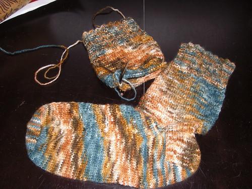 Sock Progress
