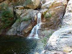 Entre la confluence Quarcitellu et le Castellucciu : 1ère cascade