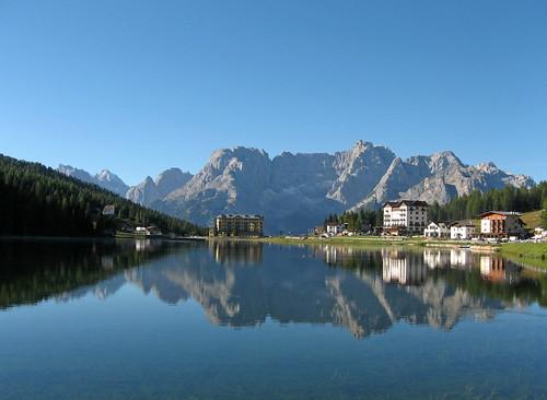 Lake Misurina, Dolomites, Italy