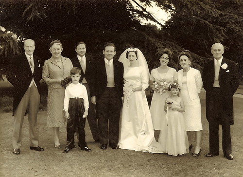 Fifty years ago - Mum and Dad's wedding