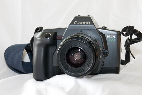 Canon EOS 600 with EF 35-80mm f/4-5.6
