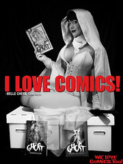 I Love Comics! (BelleChere) Tags: comics costume cosplay ghost superhero adamhughes darkhorse bellechere darkhorsecomics