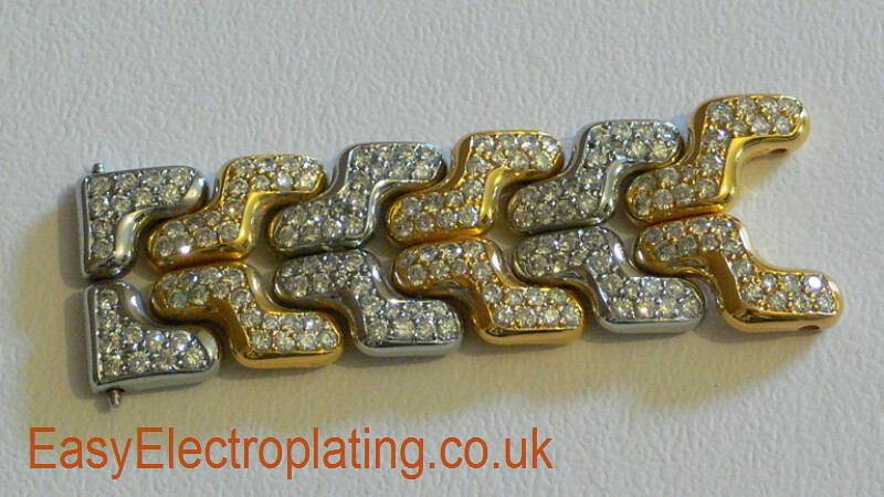 Tag Heuer Diamond Bracelet Completed