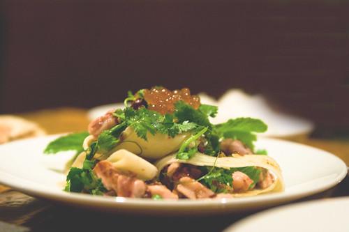 yam plah meuk - Grilled Octopus Salad