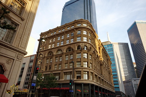 Building in downtown Dallas, Texas