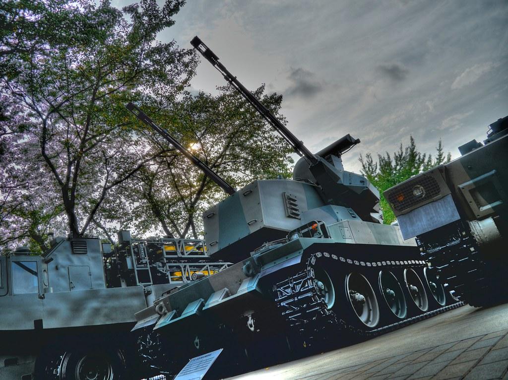 87式 自走高射機関砲