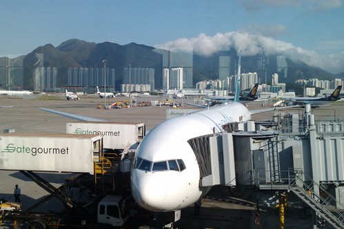 Hong Kong Airport by Andrew and Annemarie, on Flickr
