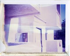 Phoenix, AZ (moominsean) Tags: arizona white phoenix polaroid apartments angles trashy stucco 190 iduv expired022008