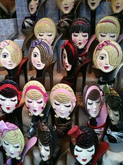 S-DollBrushes (ela_e) Tags: street festival spring italian doll shaped barbie off heads brushes knock oddly