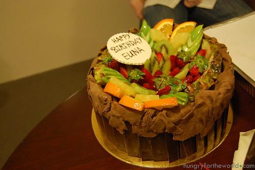euna's first birthday cake