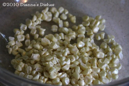 Creamed Corn: Corn Kernels